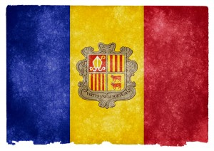 La bandera de Andorra, país que ha mejorado su sistema contra el blanqueo de Capitales