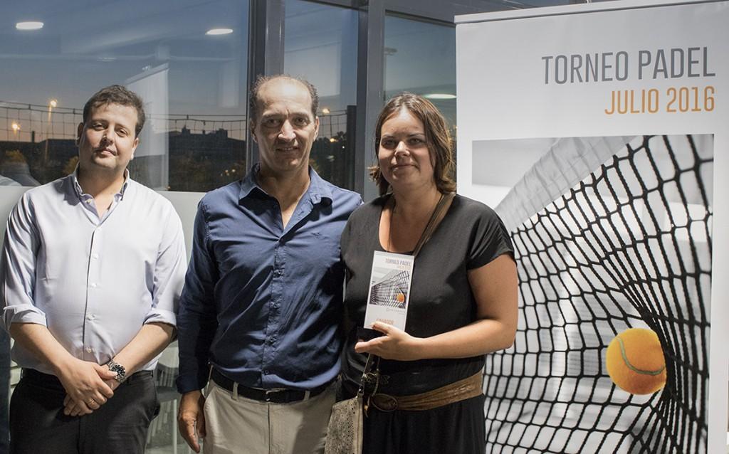 Cristina Vilá se proclamó vencedora femenina del 4º Torneo de Pádel de Conversia