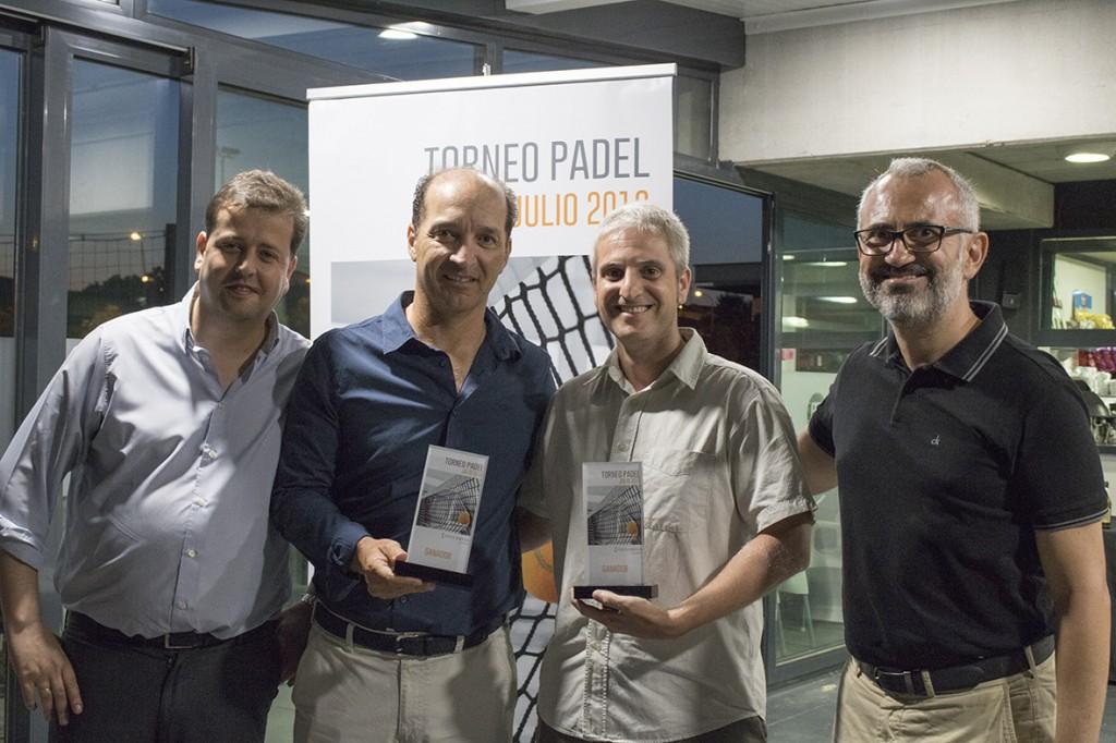 Augusto Carmona y Joel Ferrer se proclamaron vencedores del 4º Torneo de Pádel de Conversia