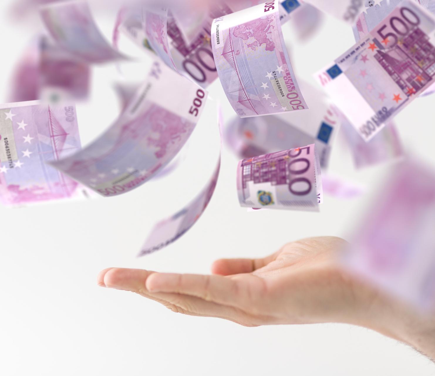 Los billetes de 500€ son un elemento que favorecen el blanqueo de capitales