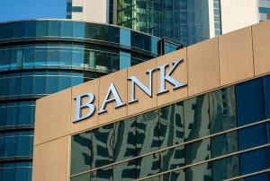 Fachada de un banco donde se puede detectar blanqueo de capitales