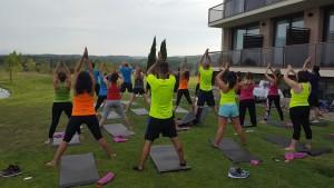 Workshop Team Conversia sesión de Yoga