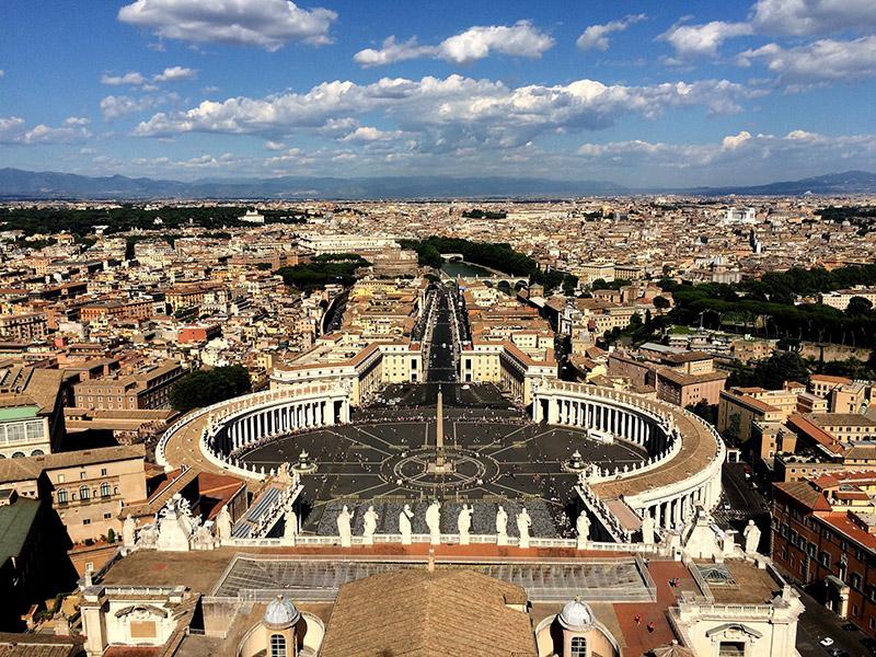 Imagen del Vaticano que lucha contra el blanqueo de capitales