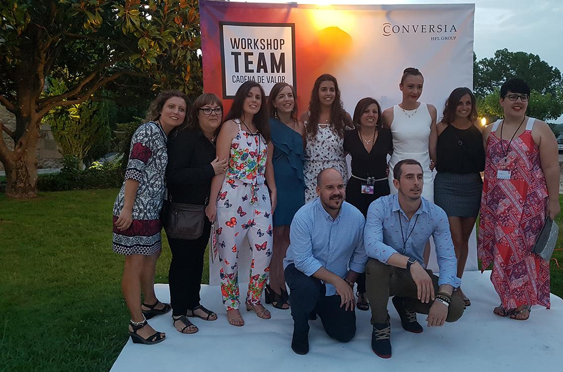 Workshop Team Conversia - Contratación