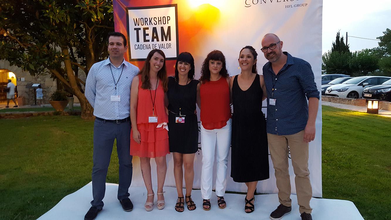 Workshop Team Conversia - Administración Photocall