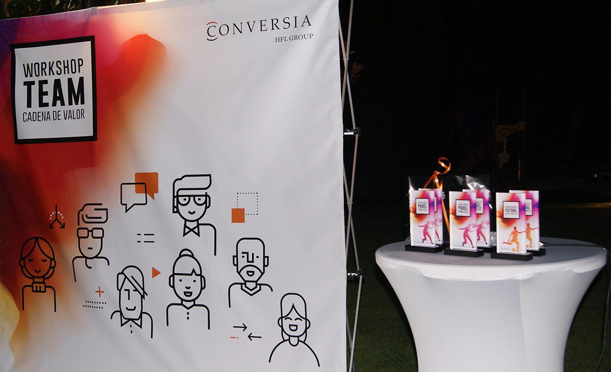 Workshop Team Conversia - Photocall premios