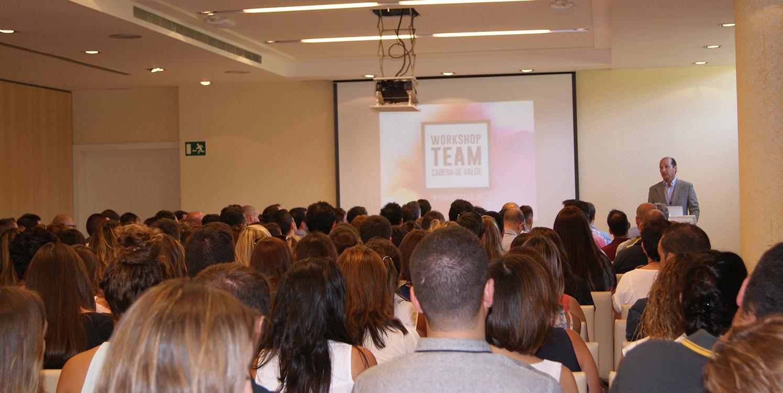 Workshop Team Conversia - Bienvenida Augusto Carmona