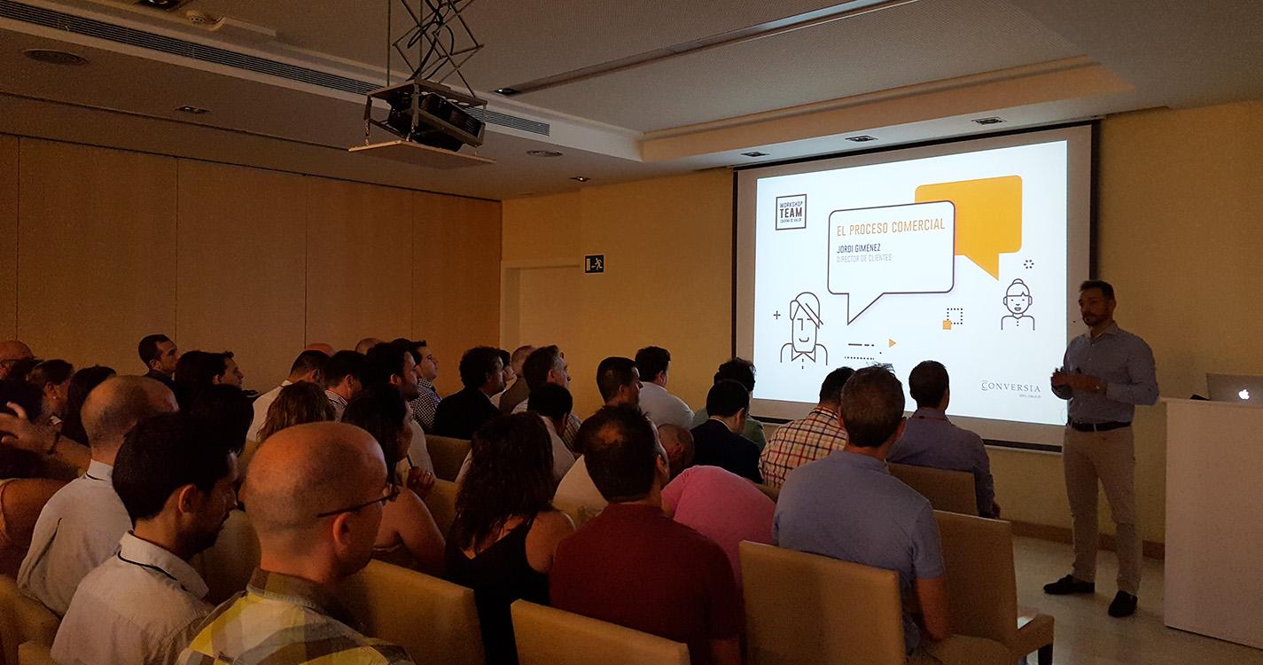 Workshop Team Conversia - Jordi Giménez