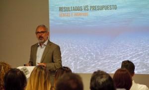 El Director General de Conversia, Alfonso Corral, durante el Kick Off Auditores de Conversia