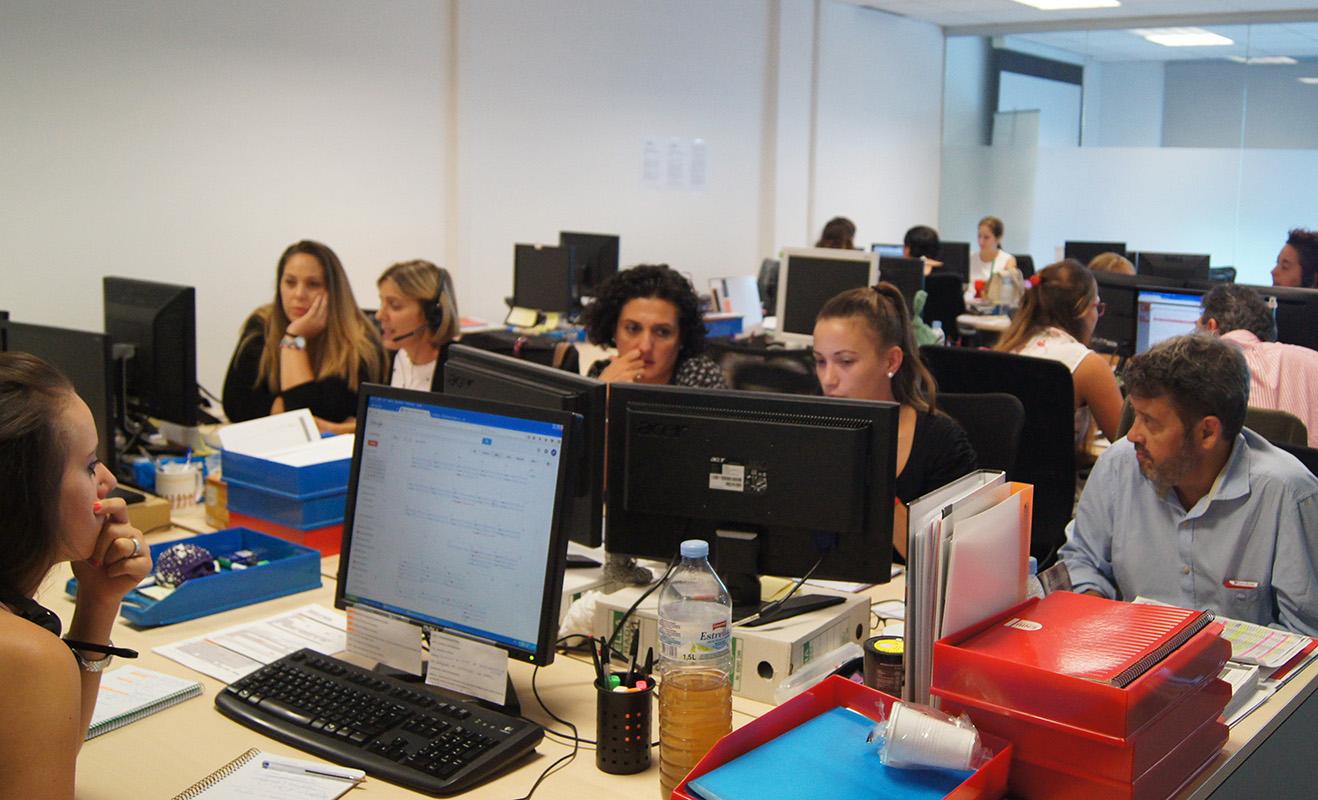 El Departamento de ATC durante el desarrollo del Kick Off Auditores de Conversia