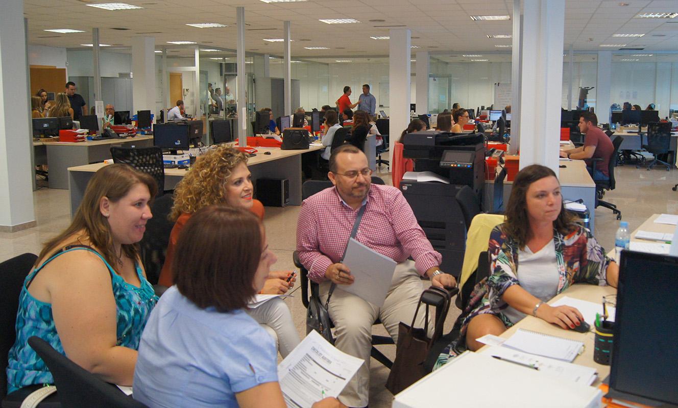 El Departamento de Consultoría durante el desarrollo del Kick Off Auditores de Conversia