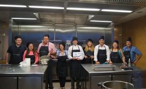 Los ganadores del Teambuilding Cooking del Kick Off de Conversia