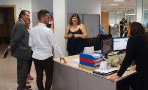 El Departamento de Formación durante el desarrollo del Kick Off Auditores de Conversia