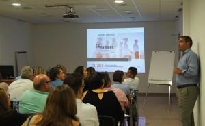 El Director de Calidad de Conversia, Toni Valdearenas, durante el desarrollo del Kick Off de Auditores de Conversia