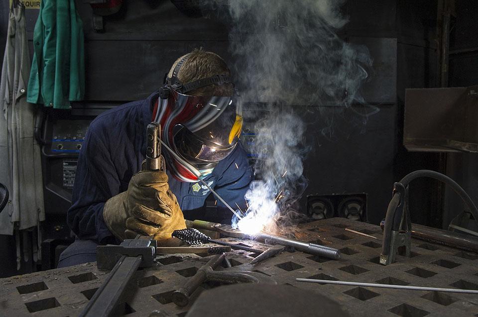 Un trabajador sin problemas ya que cumple con todas las normas de seguridad