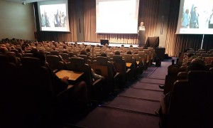 Una imagen general del auditorio del Hotel Rey Don Jaime de Castelldefels donde se celebró la Convención 2018 de Conversia