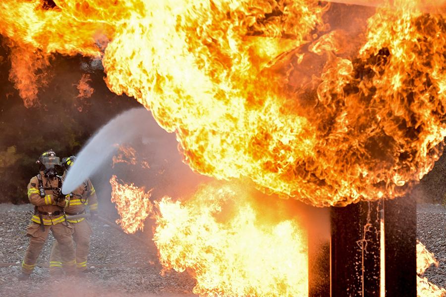 Guía sobre la exposición del cuerpo de bomberos a sustancias cancerígenas