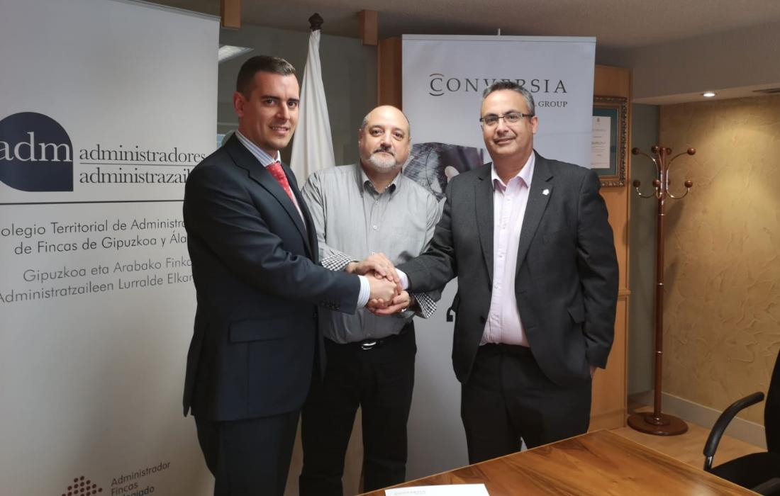 Firma del Convenio Cafguial y Conversia