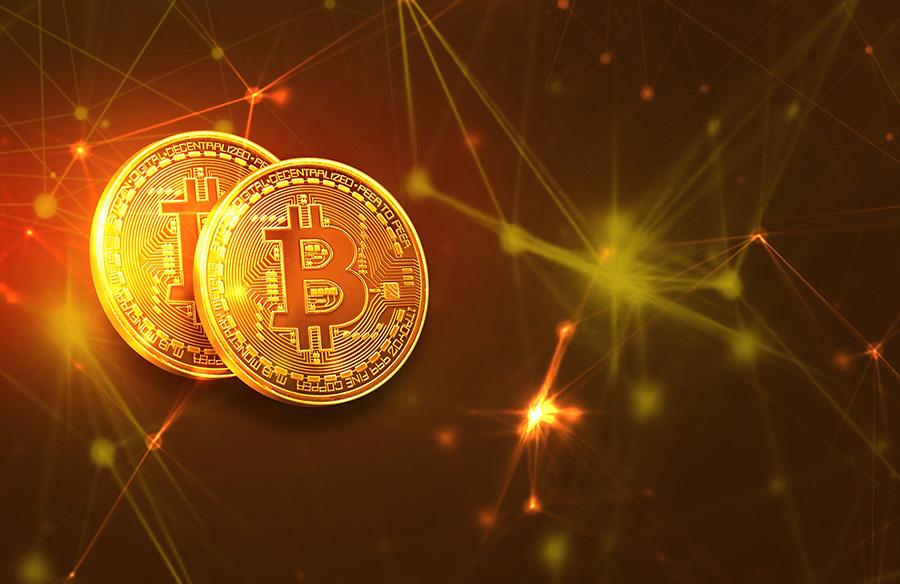 Imagen de un bitcoin para ilustrar un post de Conversia