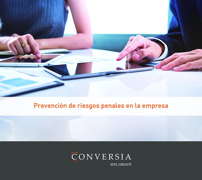 Nuevo curso de Conversia: Prevención de riesgos penales en la empresa