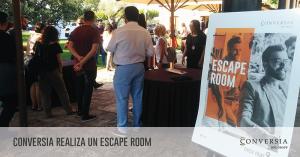 Conversia Check Point Julio 2019 Escape Room RRSS