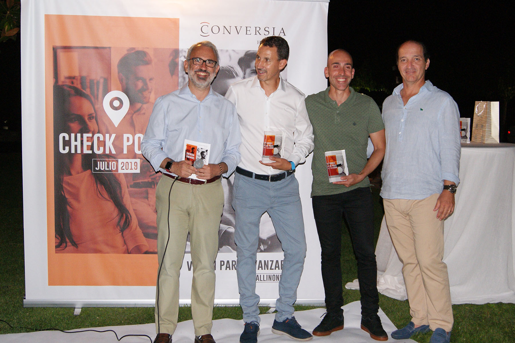 Conversia Check Point Julio 2019 Padel Finalistas Promesas