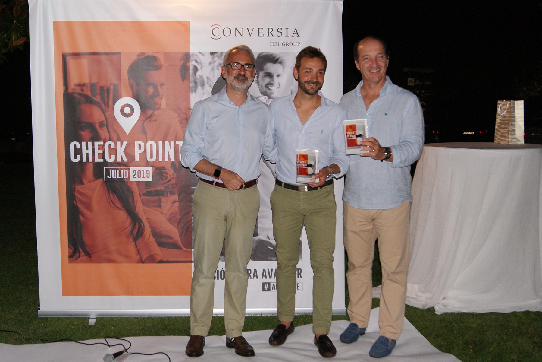 Conversia Check Point Julio 2019 Padel Ganadores Leyendas