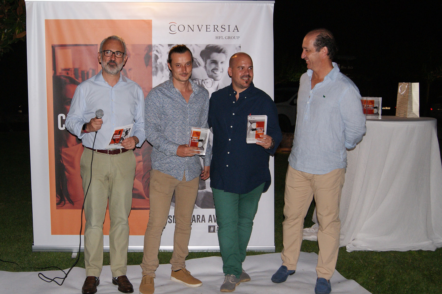 Conversia Check Point Julio 2019 Padel Ganadores Promesas