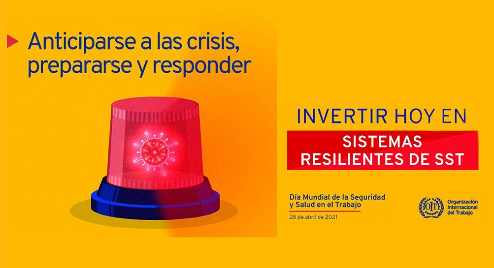 La OIT remarca la importancia de la resiliencia en el Día Mundial de la Seguridad y la Salud en el Trabajo